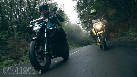 TVS Apache RTR 200 vs Yamaha FZ 250 (9)