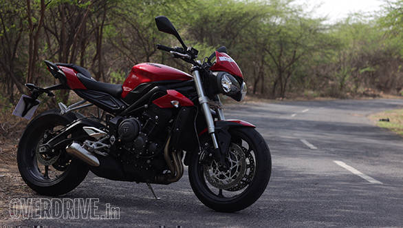 2017 Triumph Street Triple S First Ride Review Overdrive