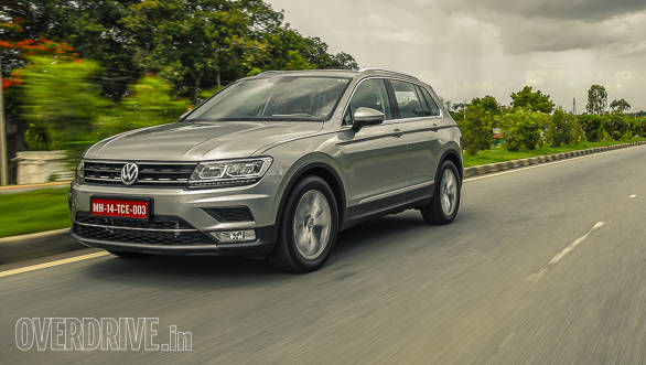2017 India-spec Volkswagen Tiguan first drive review