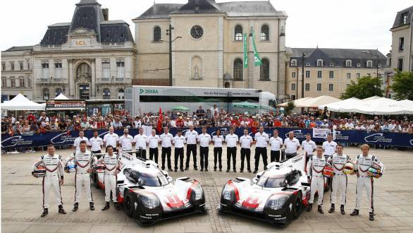 Porsche's 2017 24 Hours of Le Mans LMP1 driver line up for  is formidable