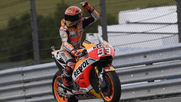 MotoGP 2017: Marc Marquez takes eighth straight Sachsenring win