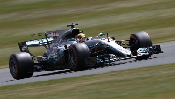 F1 2017: Lewis Hamilton takes pole position at the British Grand Prix