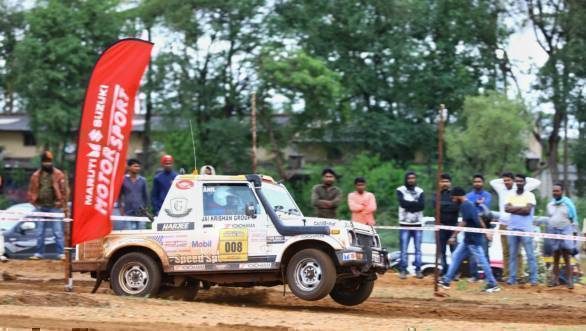 2017 Dakshin Dare: Samrat Yadav continues lead after Leg 2
