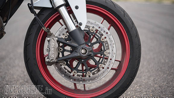 2017 Ducati Monster 797 Front brake detail