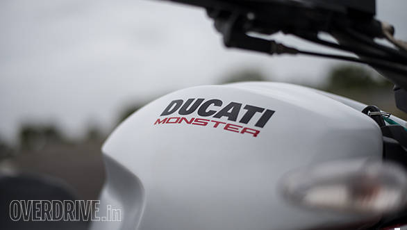 2017 Ducati Monster 797 Tank and badge detail