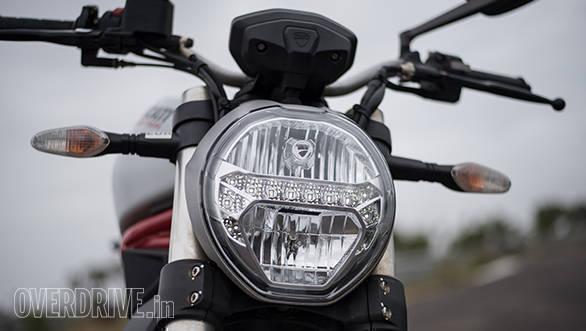 2017 Ducati Monster 797 Front detail