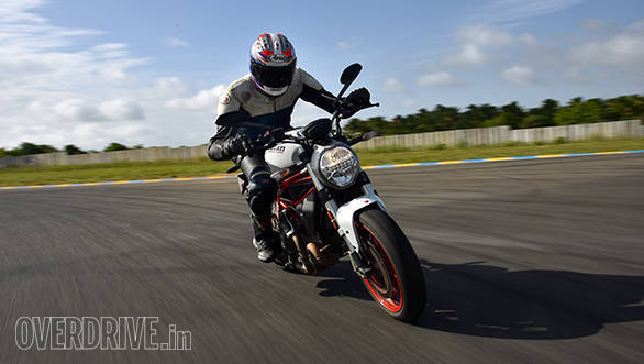 2017 Ducati Monster 797 Action
