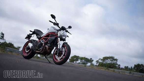 2017 Ducati Monster 797 Front 3/4