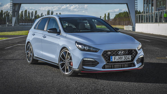 2018 275PS Hyundai i30 N hatchback unveiled