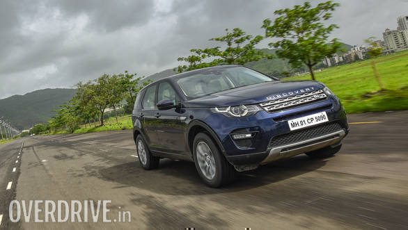 2017 land rover discovery sport hse road test review overdrive. Black Bedroom Furniture Sets. Home Design Ideas