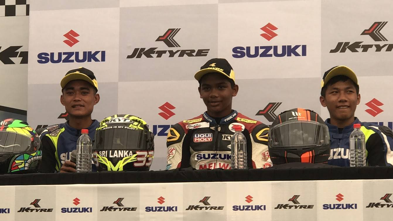 JK Tyre Racing Championship: Vishnu, Joseph and Jaden take top honours on Day 1