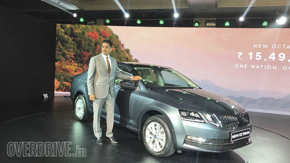 Video: 2017 Skoda Octavia facelift first look from the launch