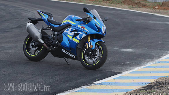 The 2017 Suzuki GSX-R1000R beauty static