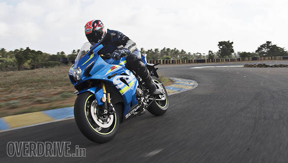 The 2017 Suzuki GSX-R1000R action