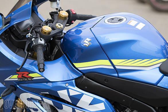 2017 Suzuki GSX-R1000R detail