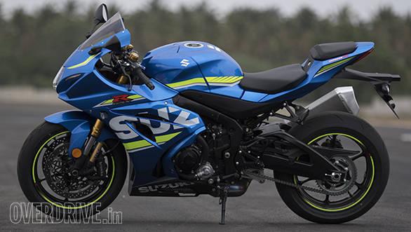 2017 Suzuki GSX-R1000R side
