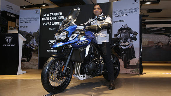 2017 Triumph Tiger Explorer XCx launched in India at Rs 18.75 lakh