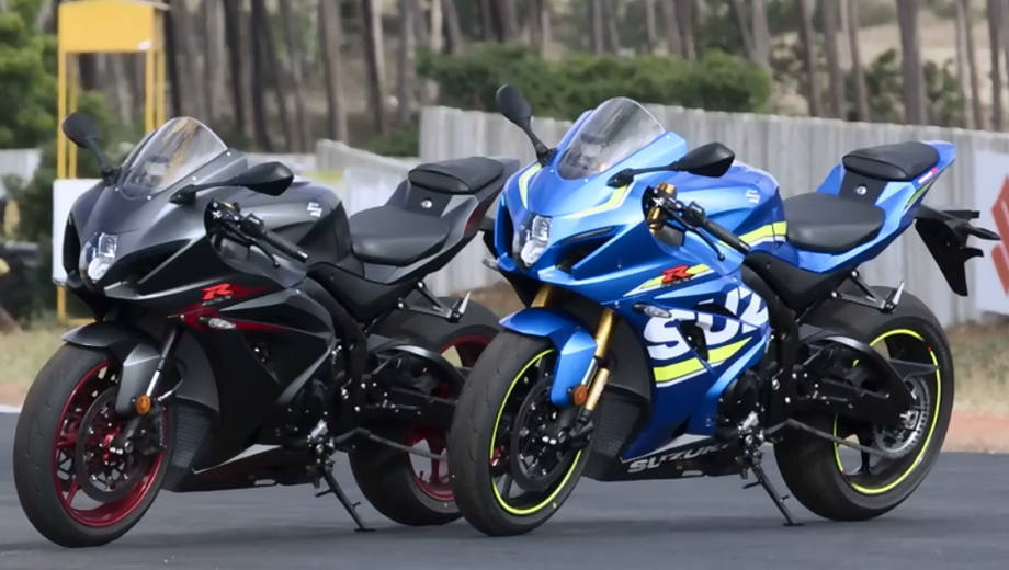 2017 Suzuki GSX-R1000R and GSX-R1000A Track Ride