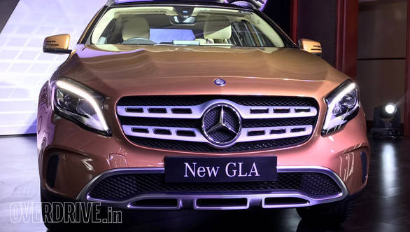 Image gallery 2017 mercedes benz gla overdrive for Mercedes benz gla india