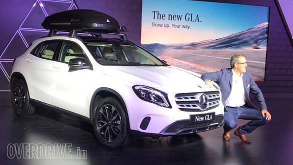 2017 Mercedes-Benz GLA: There is also an adventure pack based on the GLA priced at Rs 3 lakh over the regular model