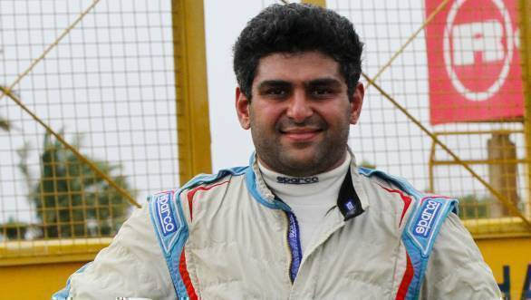 Ashish Ramaswamy took victory in Race 1 of the
