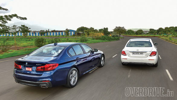 BMW 530D vs Mercedes-Benz E350D (6)