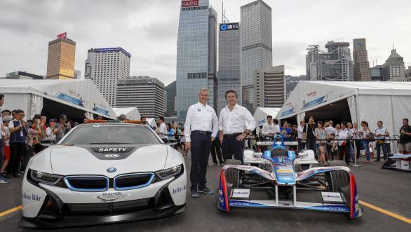 Formula E: BMW works team latest addition to Season 5 line-up