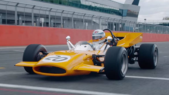 Video worth watching: Derek Bell drives McLaren's 4WD M9A F1 car 48 years later