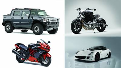 Cars and bikes that Mahendra Singh Dhoni owns
