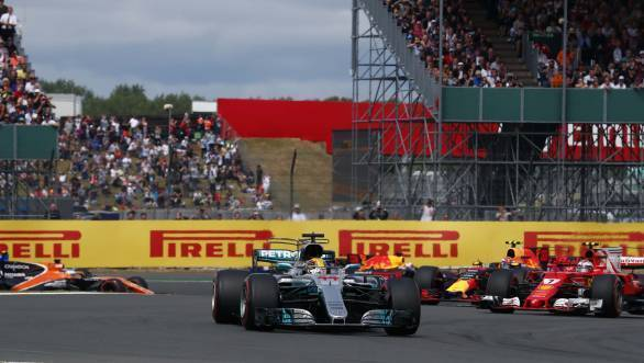 Home hero Hamilton leads the way at the 2017 British GP