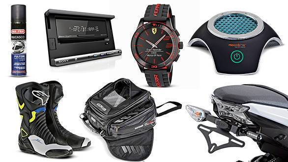 Gear and gadgets: Oxford M15R tank bag, Scuderia XX Ferrari Ultraveloce, Moonbow car air purifier, Sony XSP-N1BT, R&G tail tidy