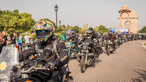 2017 Himalayan Odyssey flagged off from India Gate