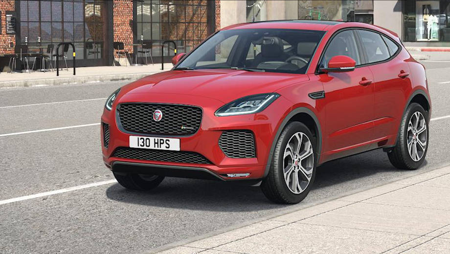 Upcoming: 2018 Jaguar E-Pace