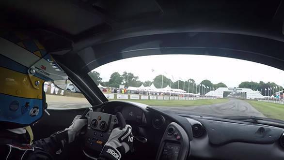 Video worth watching: Onboard footage of Kenny Brack breaking Goodwood FoS hillclimb record