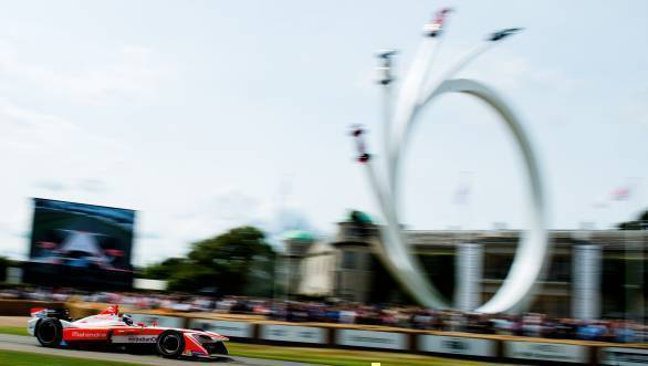 Mahindra Racing claims open-wheel eRecord at Goodwood FOS