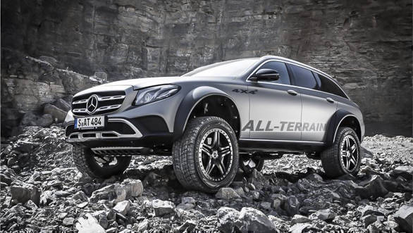 Mercedes-Benz E-Class All Terrain SUV Concept-2