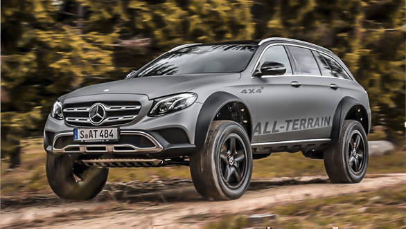 Mercedes-Benz E-Class All Terrain 4x4 SUV concept unveiled