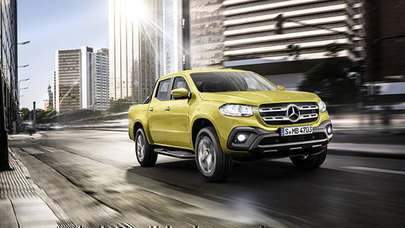 Mercedes X-Class pickup truck revealed in production form