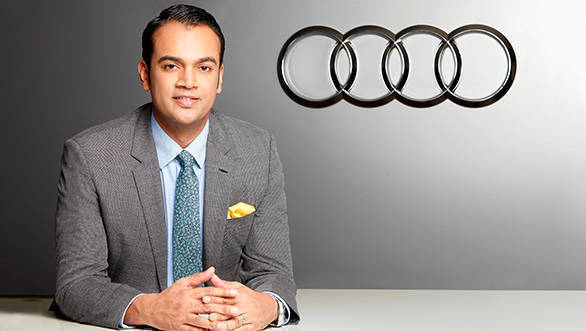 Mr. Rahil Ansari, Head, Audi India