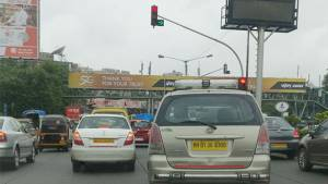 Is the traffic police on the right track?