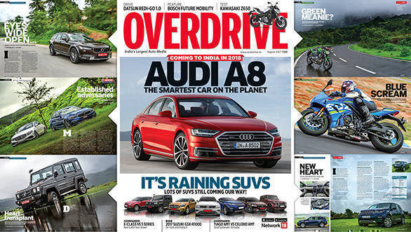 The August 2017 issue of OVERDRIVE is now out on stands!