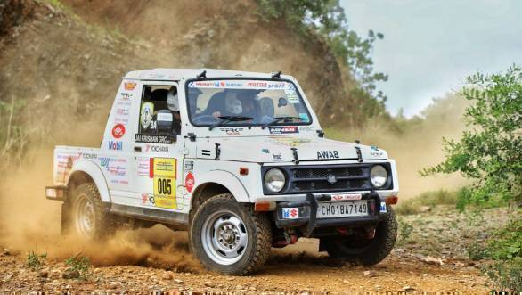 Samrat Yadav and S N Nizami lead on Day 1 of 2017 Maruti Suzuki Dakshin Dare_2