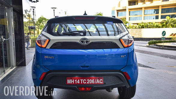 The rear end of the car is as attractive as the front. The LED tail lamps add to the flair