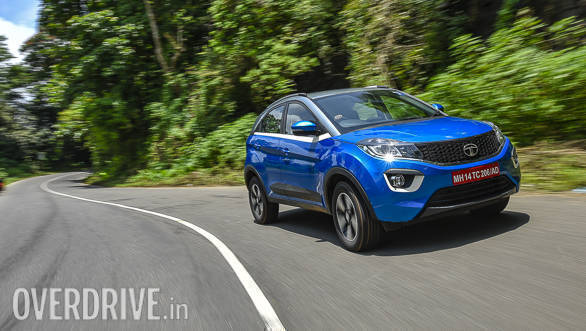 Spy Pics: Tata Nexon With AMT Gearbox Spotted Testing