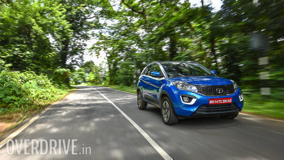 Spied: Tata Nexon AMT spotted testing in India