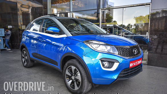 Tata Nexon Compact SUV priced at ₹5.85 lakhs
