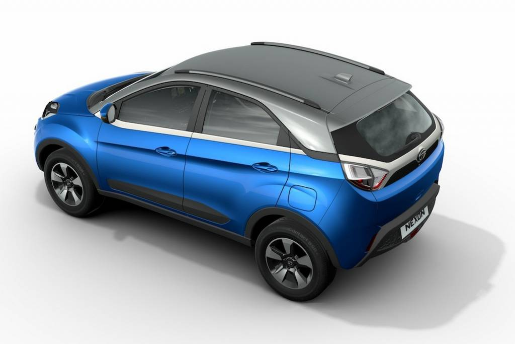 2017 Tata Nexon: The dual tone treatment does give the compact SUV a smart profile
