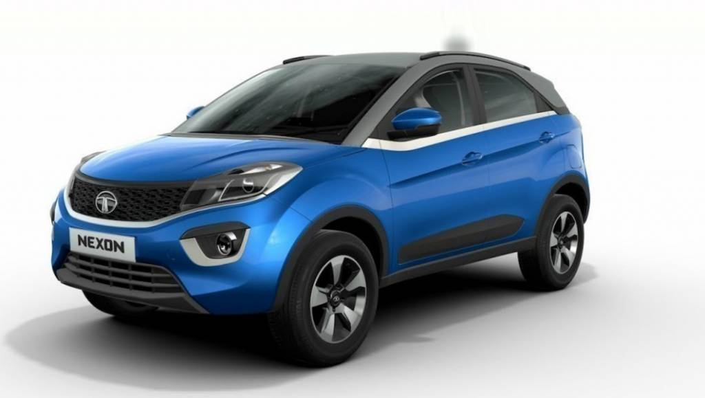 2017 Tata Nexon: Tata Motors has gone for a more curvy profile for this one