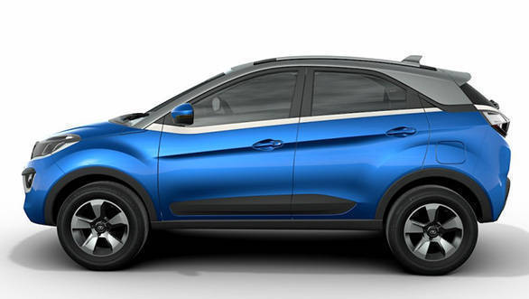2017 Tata Nexon: At 3,995mm, the Tata Nexon competes with Ford EcoSport and Maruti Suzuki Vitara Brezza