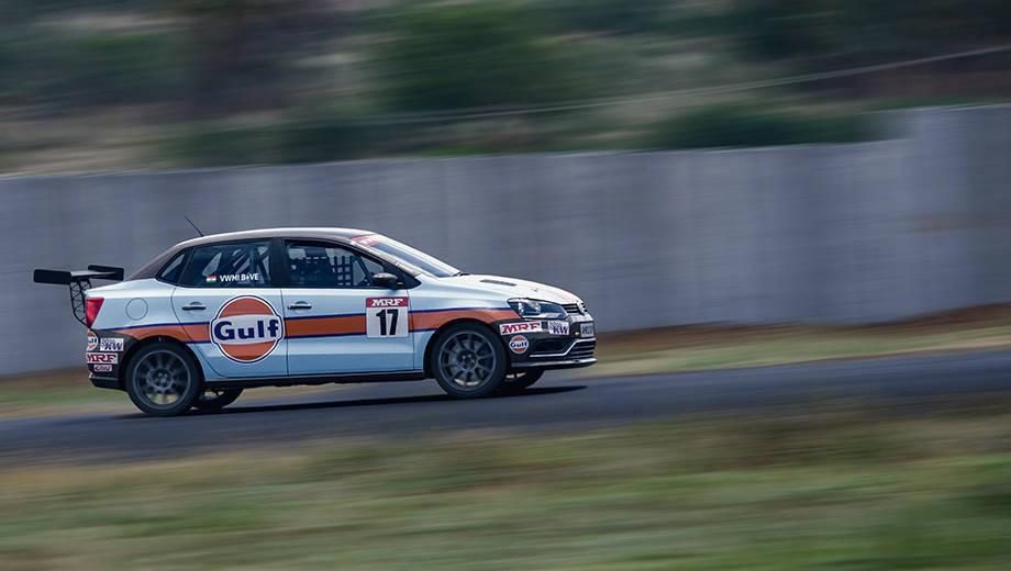 2017 Volkswagen Ameo Cup racecar drive experience
